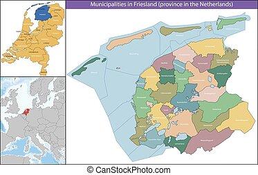 provincia friesland, paesi bassi