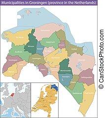 provincia, paesi bassi, groningen