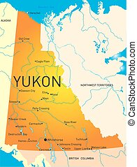 provincia, yukon