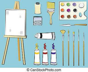 provviste, arte, -, pittura