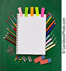 provviste, scuola, educazione, articoli