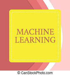 puntinismo, concetto, dare, testo, cornice, luminoso, insegnato, vuoto, dashed, scrittura, macchina, fondo., quadrato, disinserimento, essere, abilità, affari, linea, dati, parola, colorato, computer, learning.
