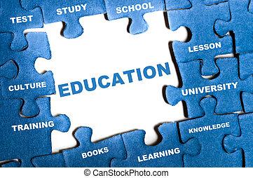 puzzle, educazione
