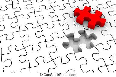 puzzle, jigsaw, ultimo pezzo