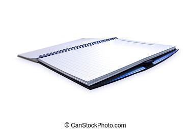 quaderno, aperto