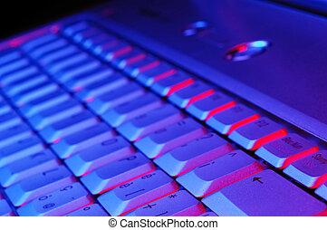 quaderno, tastiera