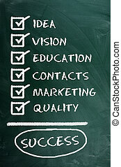 qualità, educatioa, ....=success