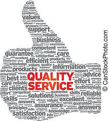 qualità, servizio
