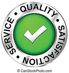 qualità, soddisfazione, servizio