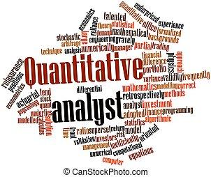 quantitativo, analista
