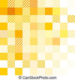 questione, astratto, giallo