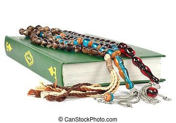 quran, perline, musulmano, rosario