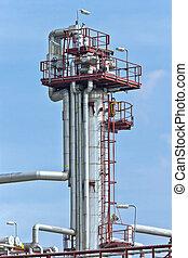 raffineria, torre