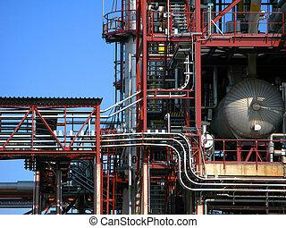 raffineria, tubatura