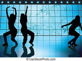 ragazze, ballo