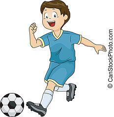 ragazzo, calcio