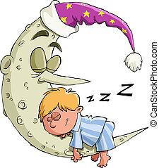 ragazzo, sonni