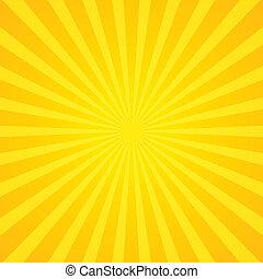 raggi sole, fondo