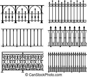railings, recinti
