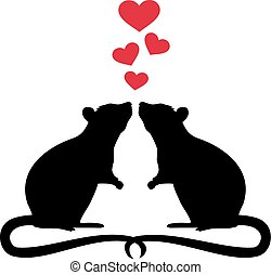ratti, amore, due