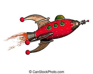 razzo rosso