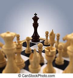 re, accantonato, scacchi