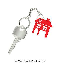 reale, casa, proprietà, icone