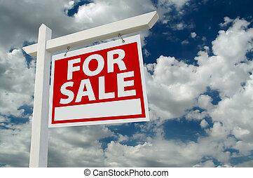 reale, vendita, proprietà, segno