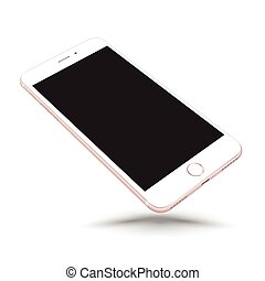 realistico, smartphone, manichino