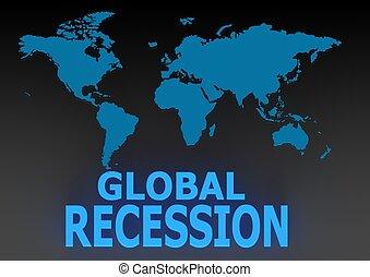 recessione, globale