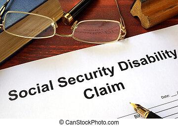reclamo, previdenza sociale, incapacità