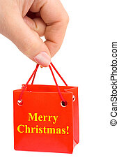 regalo, mano