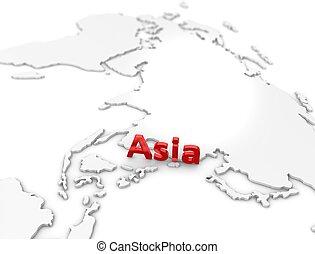 regione, asia