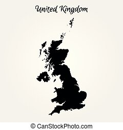 regno, mappa, unito