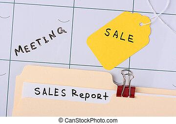 relazione, vendite