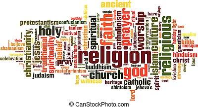 religione, parola, nuvola