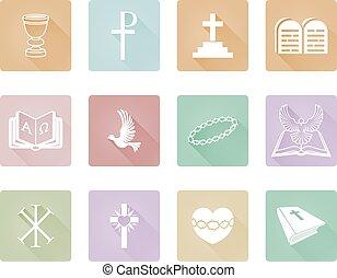 religioso, cristiano, icone