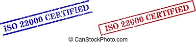 rettangolo, graffiato, iso, textured, 22000, francobollo, cornice, certificato, sigilli