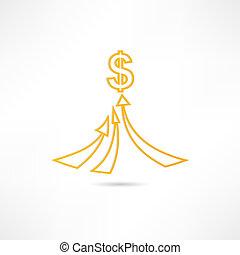 ricchezza, icona