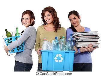 riciclaggio, spreco, domestico, donne