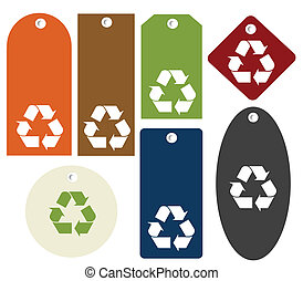 riciclare, etichette