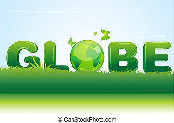 riciclare, globo