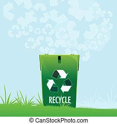riciclare, naturale