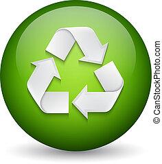 riciclare, segno
