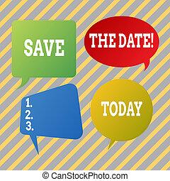 ricordare, qualsiasi cosa, orario, testo, esposizione, segno, concettuale, time., foto, non, risparmiare, date.
