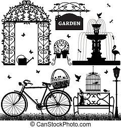 ricreativo, parco, giardino