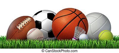 ricreazione, sport, ozio