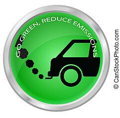 ridurre, emissioni, carbonio
