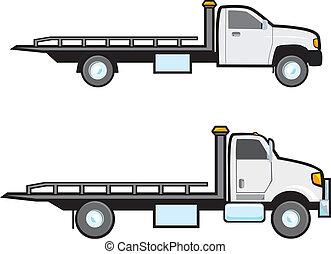 rimorchio, camion