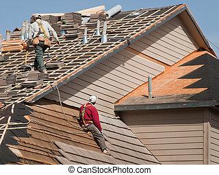 riparazioni, tetto